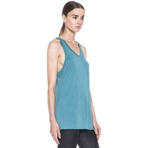 Alexander Wang Classic Tank with Pocket in Ocean